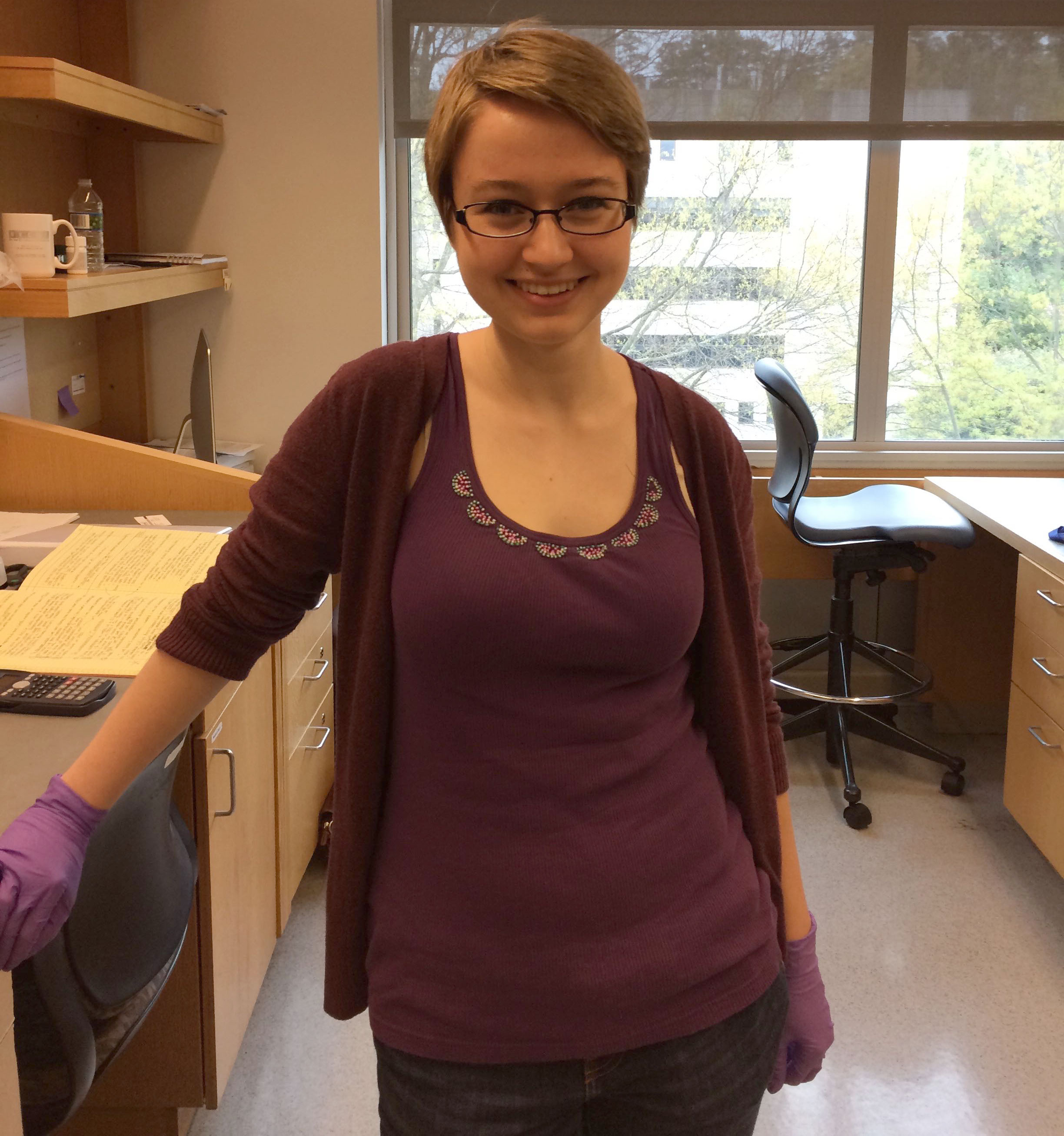 Chloe Barrington-Ham, Research Technician 2015-2018  Current Position: PhD Student, Graduate Program in Molecular Biology, University of Colorado Anschutz Medical Campus