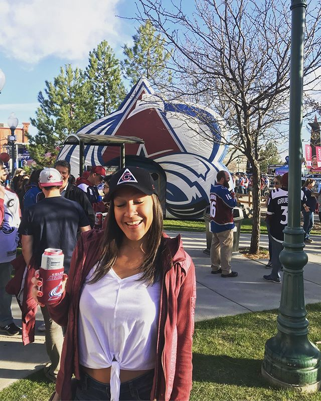 Denver, Colorado. April 2019. I went to 4 Avalanche games, including 2 playoff games and they won every time. Just saying. #nachos