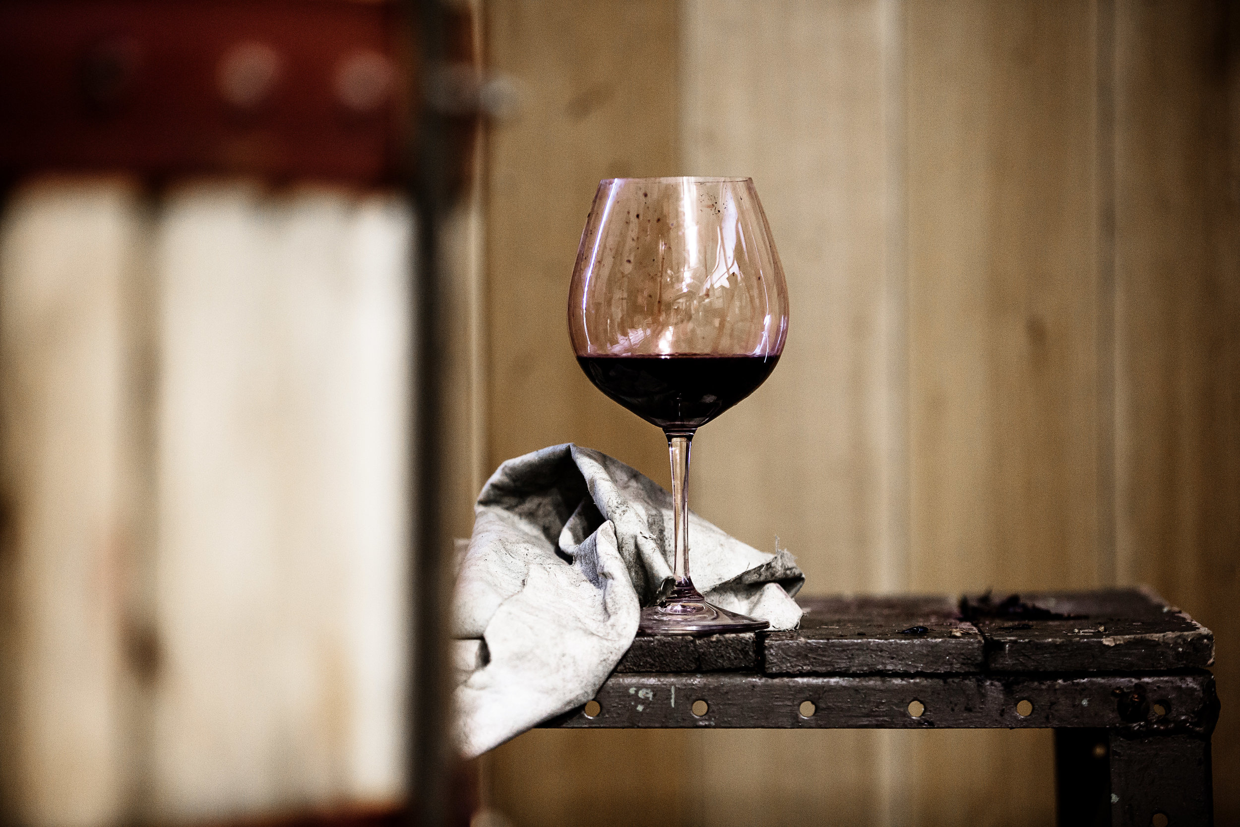 Malbec in the glass