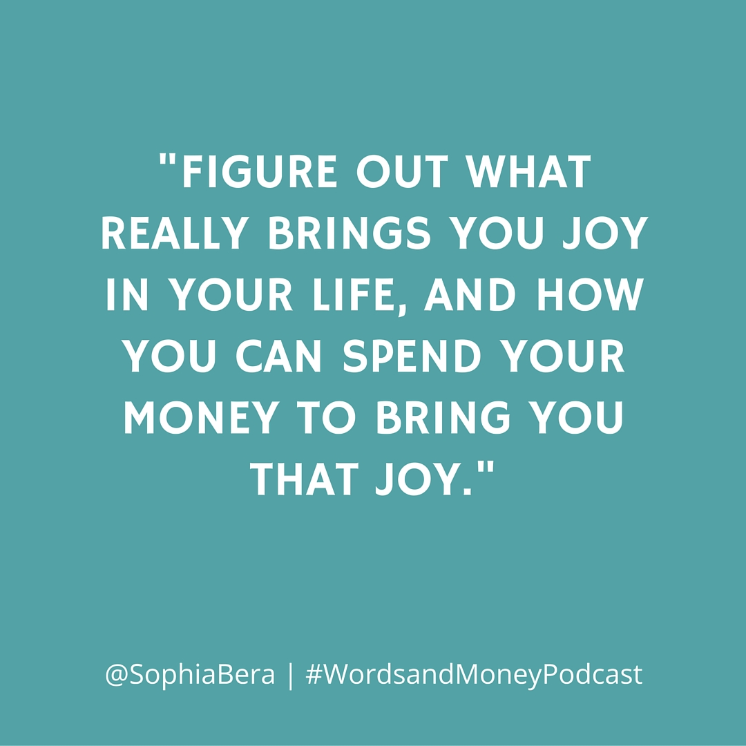 Sophia Bera drops knowledge bombs on the Words and Money Podcast
