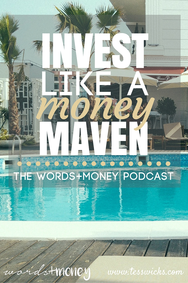 Learn to Invest Like a Money Maven using Roboadvisors with Charisse Conanan Johnson on The Words and Money Podcast