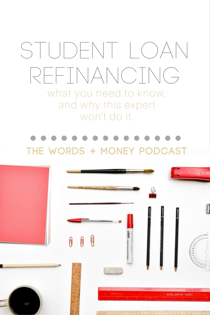 Learn about how refinancing your student loans can impact your financial security. We're diving into the pros and cons and learning why one expert won't refinance her loans that total over $100k.