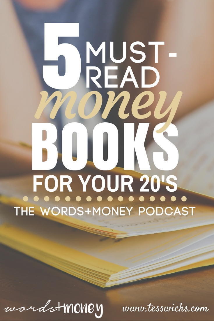 Love this! - 5 Must-Read Money Books for your 20s - A great list of books to reference at any stage of your money journey. Thanks for pinning!