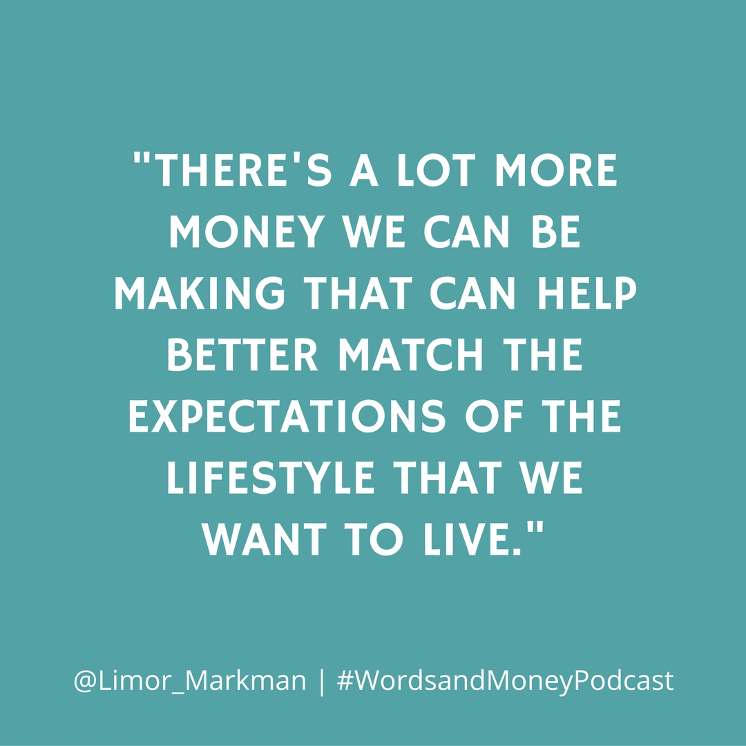 Limor Markman shares her advice and knowledge around creating multiple streams of income. We focus on becoming a real estate investor instead of a homeowner and how that is better suited for the millennial generation. All on the Words and Money Podcast.