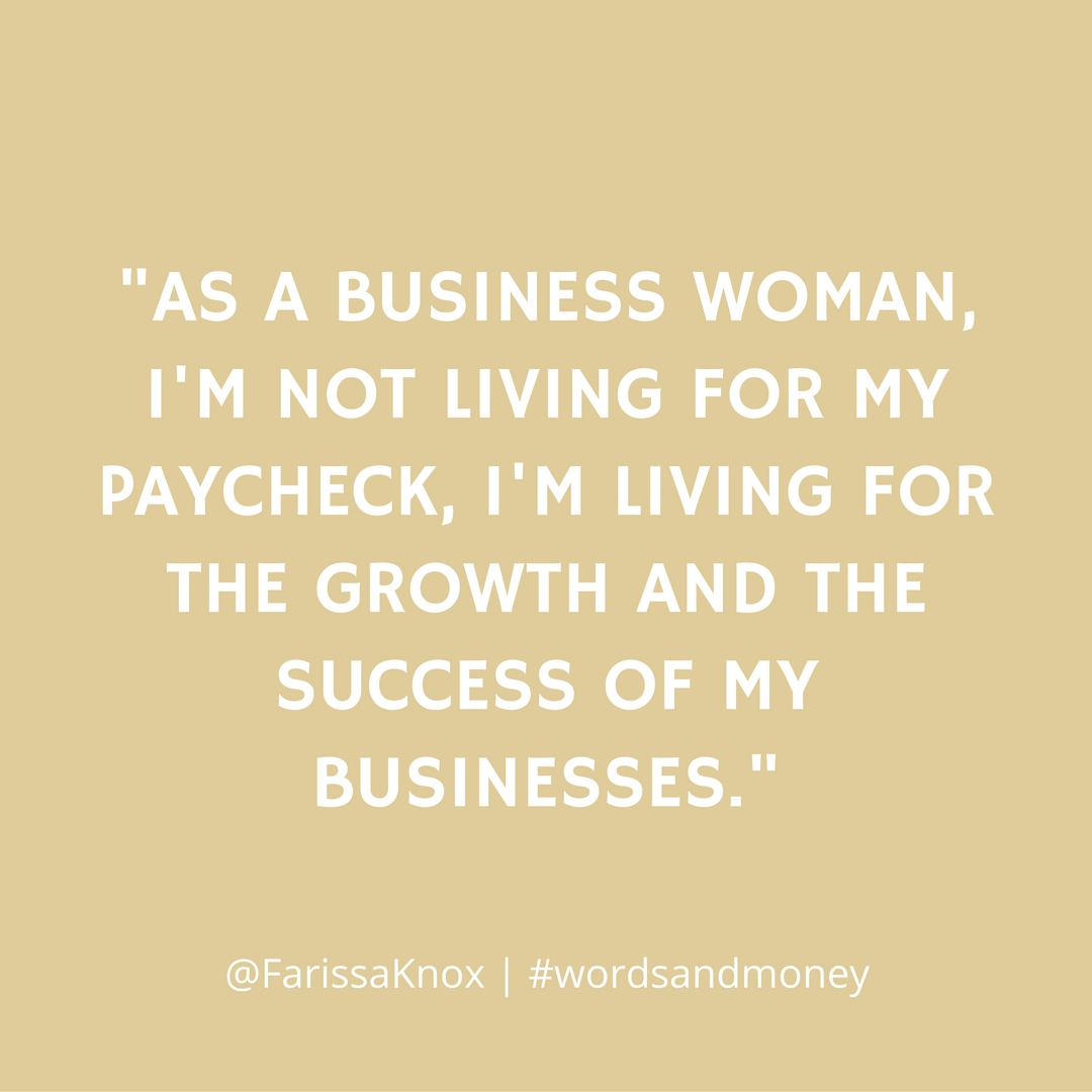 Farissa Knox, founder of RLM Media and WhatRUWearing, shares how her money mindset changed from employee to entrepreneur in this episode of the Words and Money Podcast