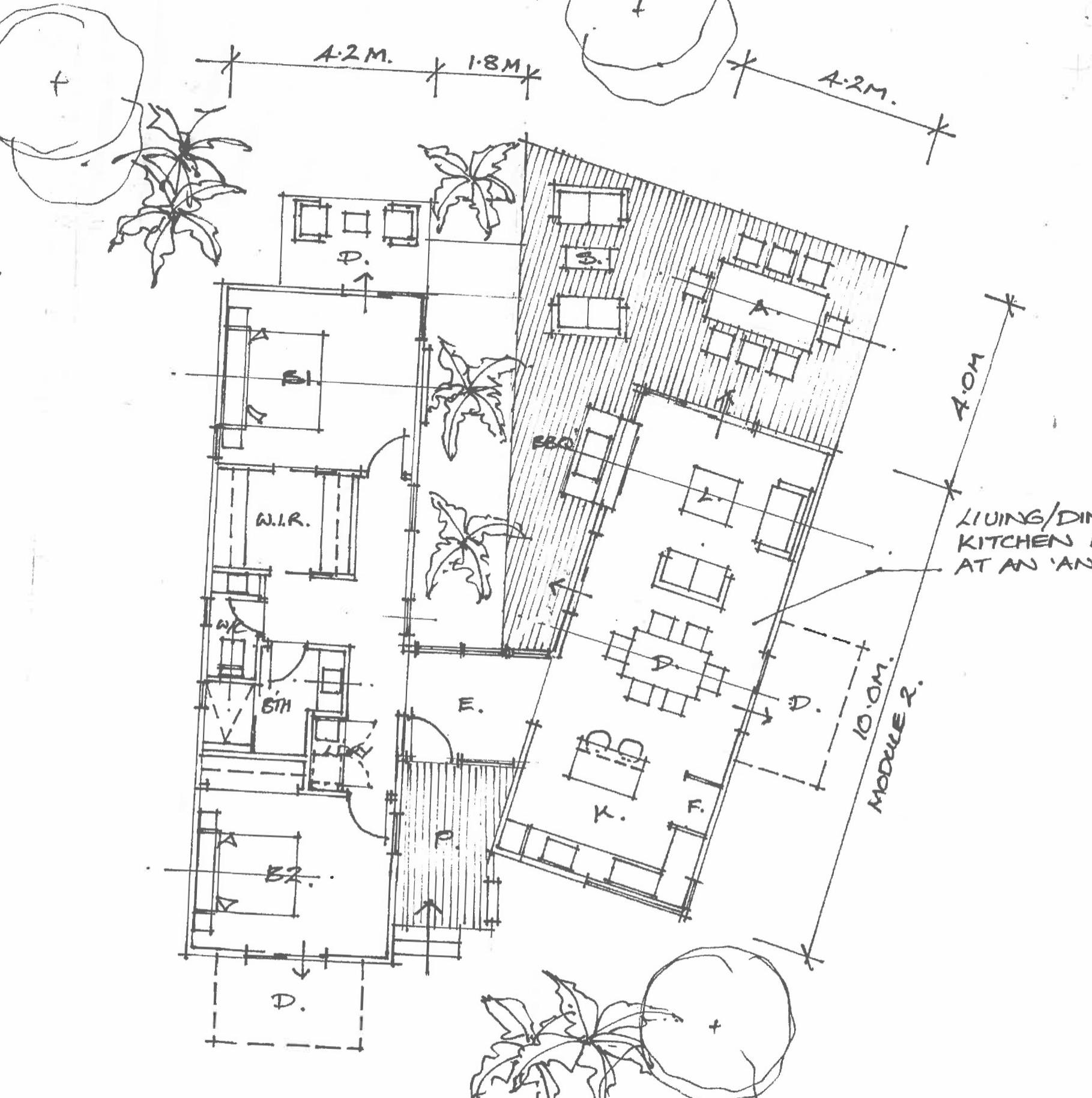 Example of a custom modular home design
