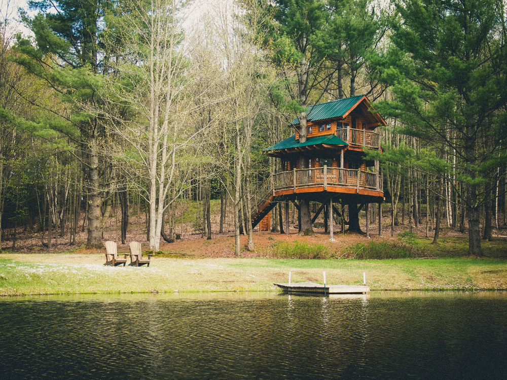 Glamping Hub Louise Johnson Vermont Treehouse