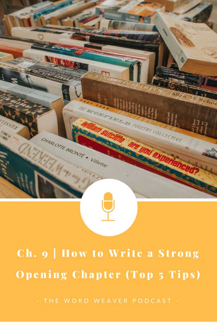 How to Write a Strong Opening Chapter (Top 5 Tips)