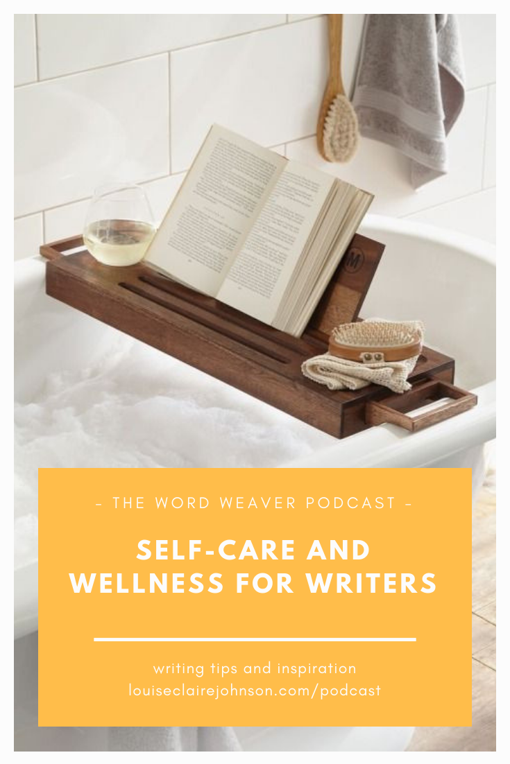 Self care and Wellness for Writers - The Word Weaver Podcast (Chapter 8) with Eryl McCaffrey - Guided Meditation for Writers and Readers.png