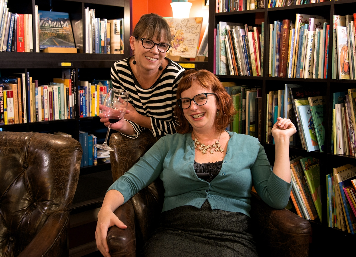 LEFT: Kelley Johnson, PhD (Sex Positive Nation); RIGHT: Jamie Brazell, MA, LMFT (Out of The Woods Therapy)