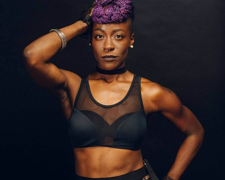 Candace Liger, founder of Felyne Fetish Fitness will be coming to Asheville on Saturday, August 31 for an 18+ sexy-as-hell kinky workout workshop.