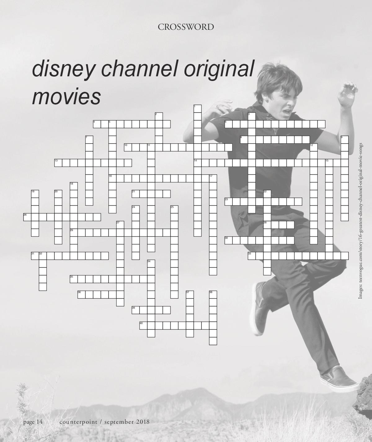 September 2018: Disney Channel Original Movies