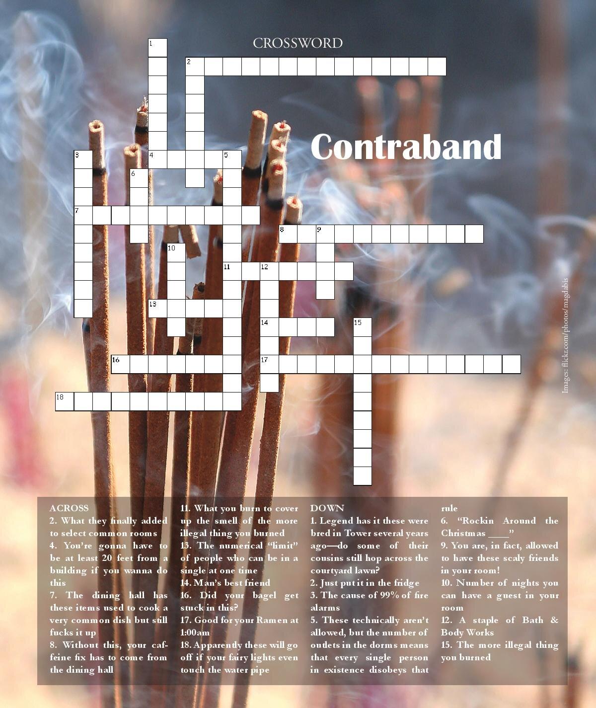 September 2019: Contraband