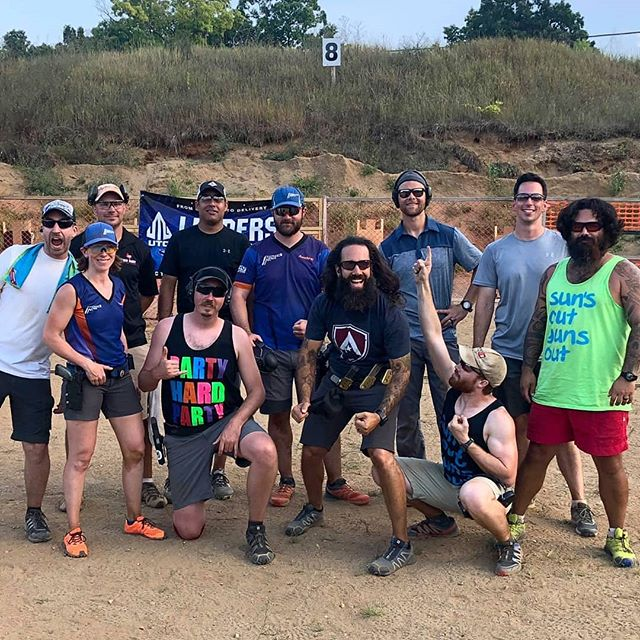 Quite possibly the best major match squad I've been in. Solid talent, laid back people, and everyone was on point with stage prep.  #superdupersquad #uspsa #area5 #waypoint #onpoint #czechmeowt #suntanops #sunsoutgunsout #tankalert #sofleteshooters #thisisuspsa #dvc #czechmeowt #dontletyourdreamsbedreams #level3 #gottagofast #blazeops
