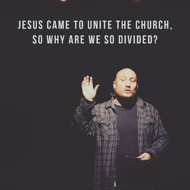 "If you were in church on Sunday, the challenge this week was to look for ways to bring unity with others.  Jesus came to break down walls! ------- Eph. 2:14 ""For He Himself is our peace, who has made the two groups one and has destroyed the barrier, the dividing wall of hostility."""