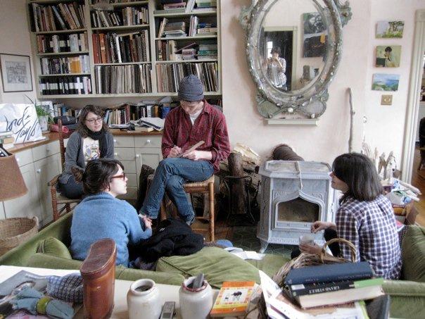 Living room / Art room in Use