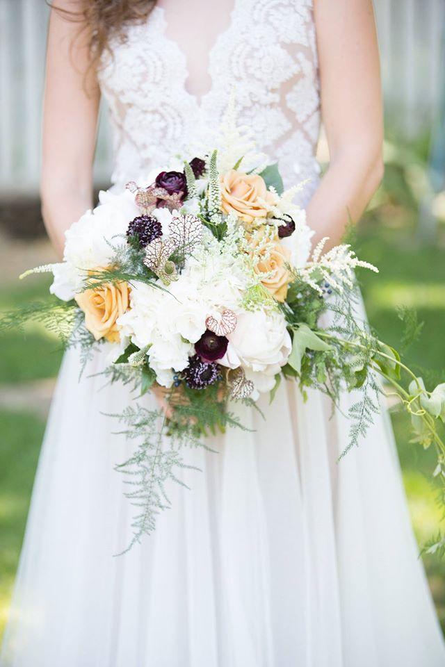 Gorgeous wild floral bouquet from The Perfect Petal, Denver, Co.