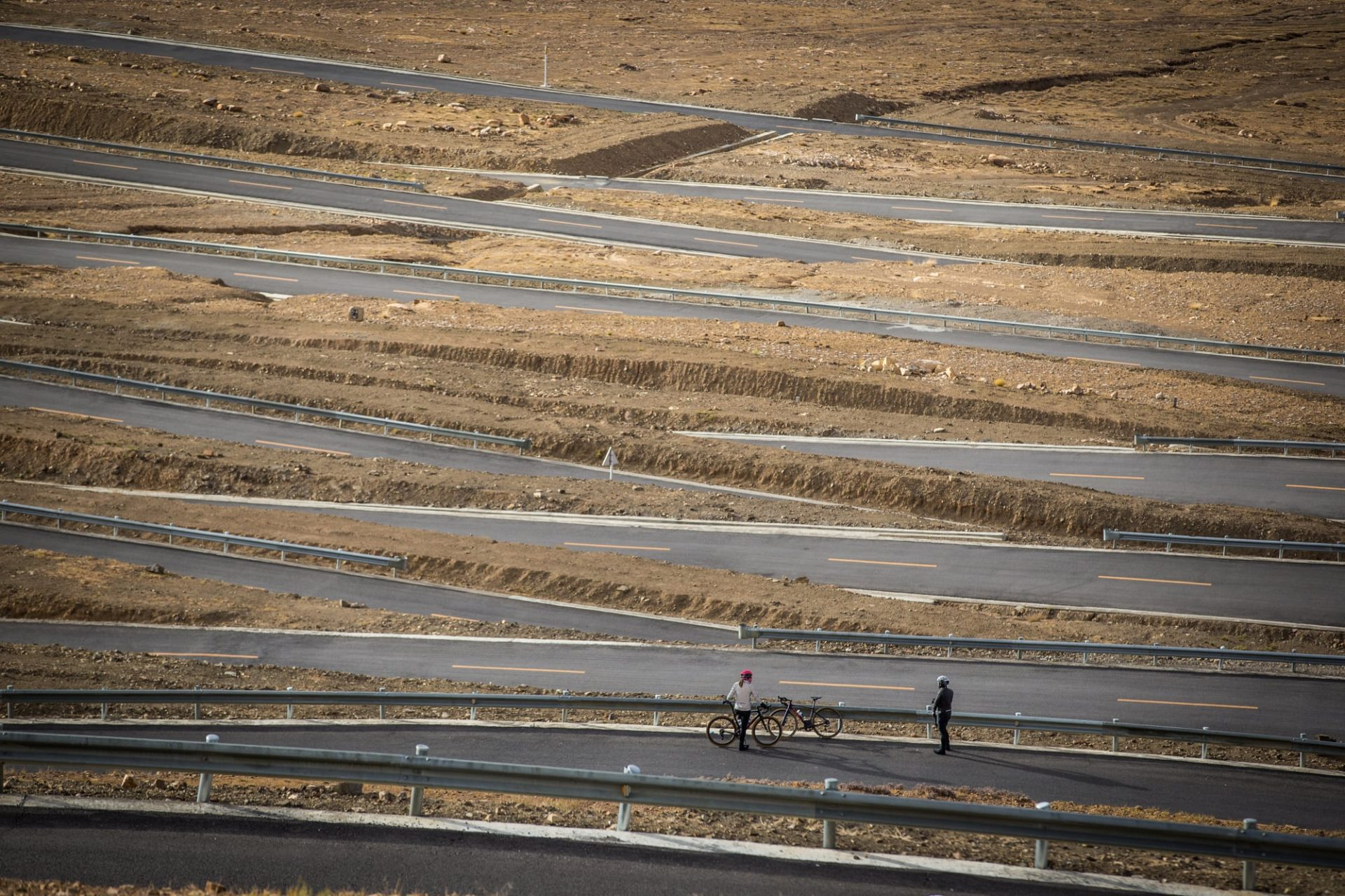 Not many people know that Escher designed the highways in Tibet...