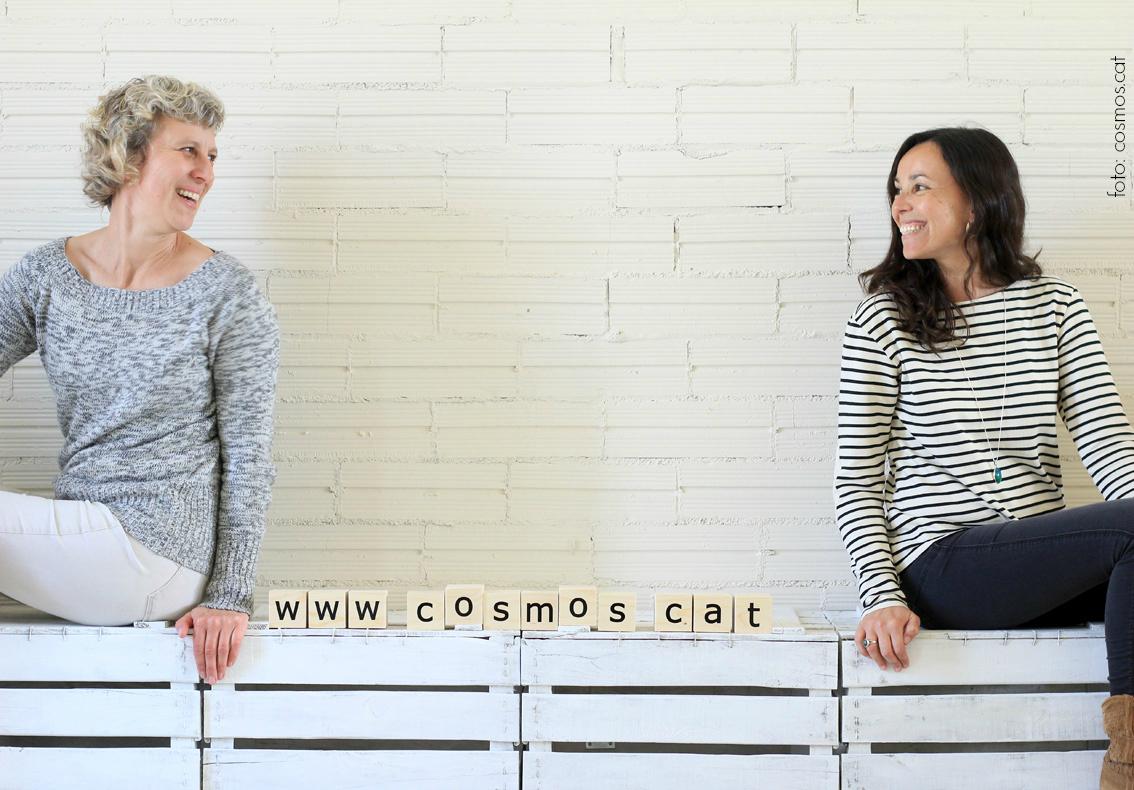 L'Ariana i l'Anna són les creadores de Cosmos.cat.