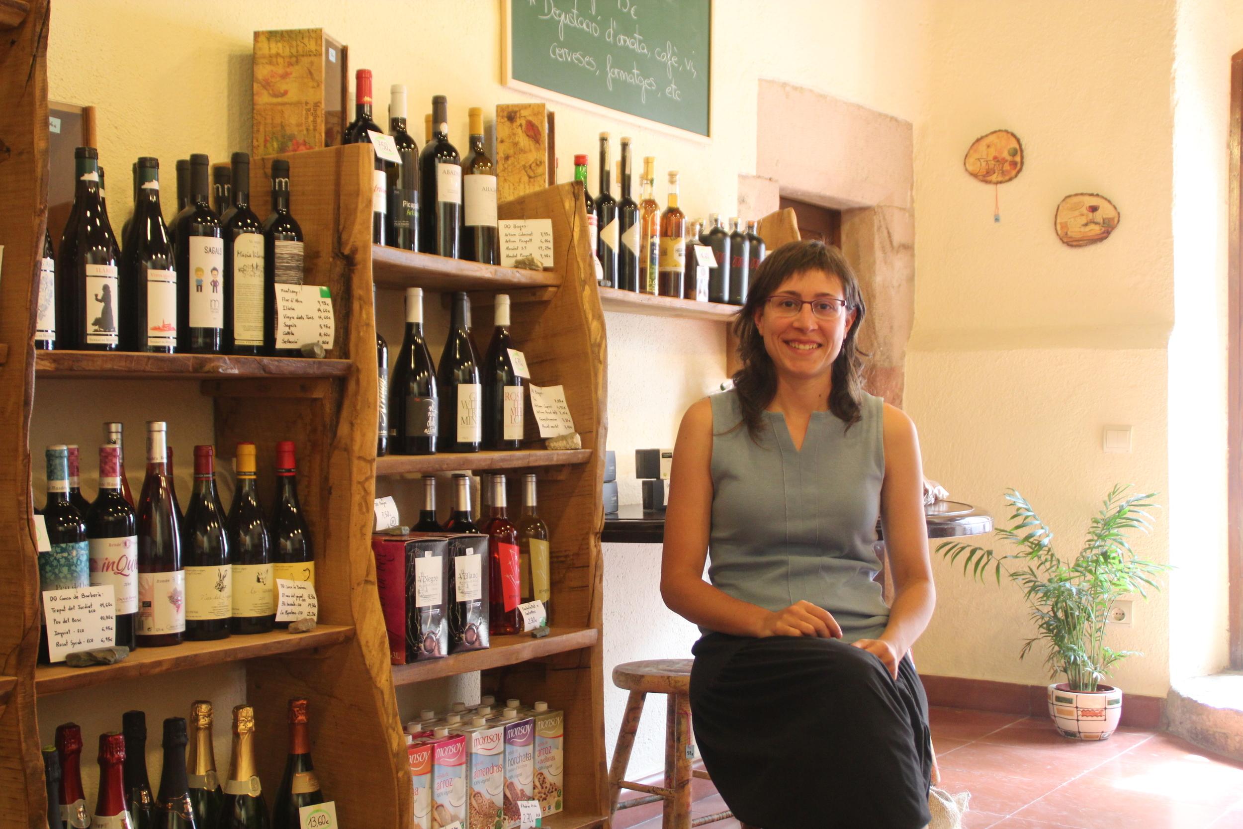La biòloga Maria Alba Requesens és la propietària de La Bauxa.