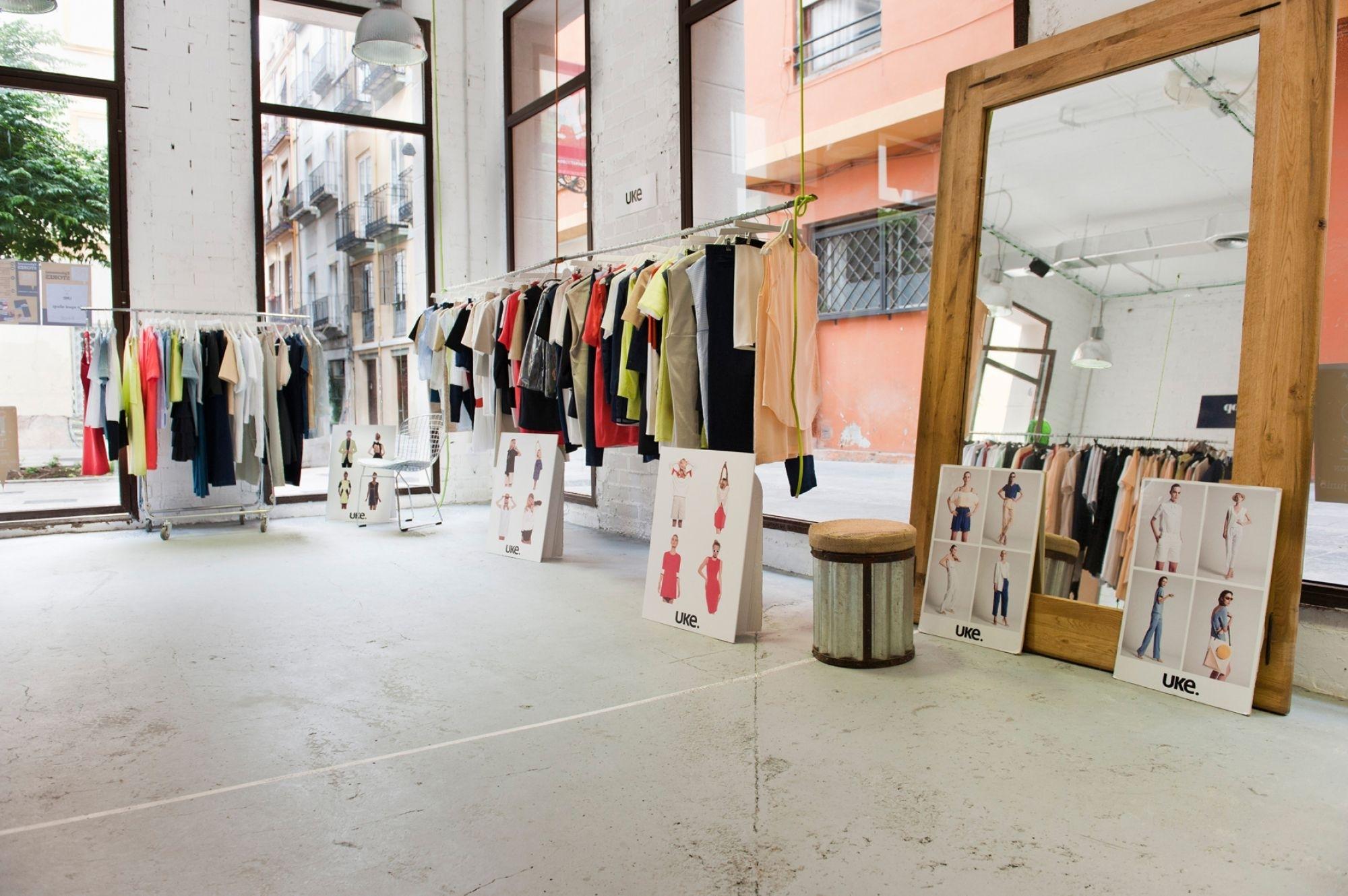 Pop up store en un dels espais que ofereix PopPlaces.