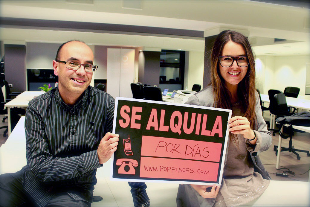 En David Pérez i la Karen Prats lideren PopPlaces.
