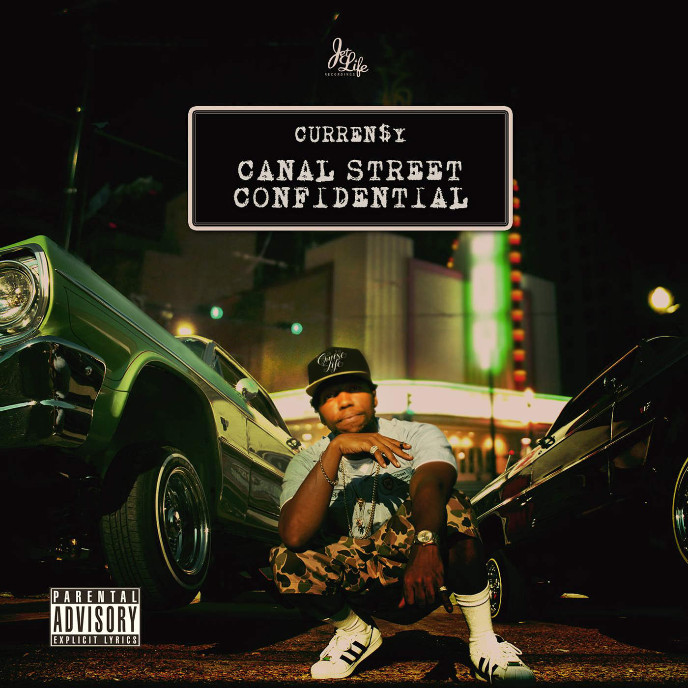 Canal Street Confidential by Curren$y