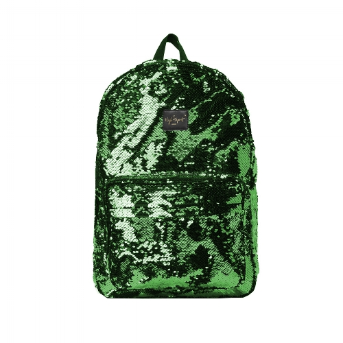 green sequin high spirit bag