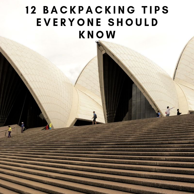 12 Backpacking Tips