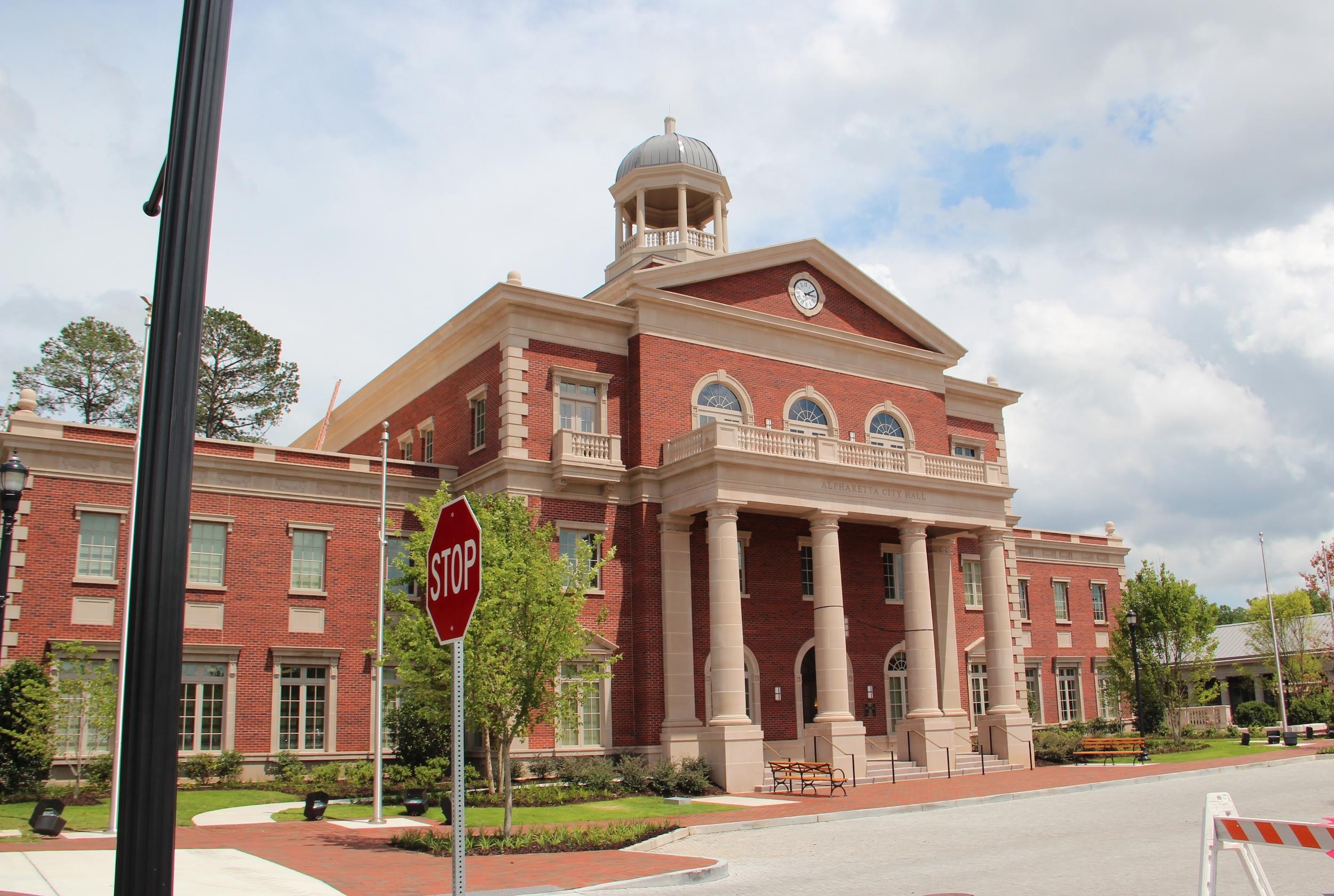 Alpharetta Georgia City Hall By Thomson200