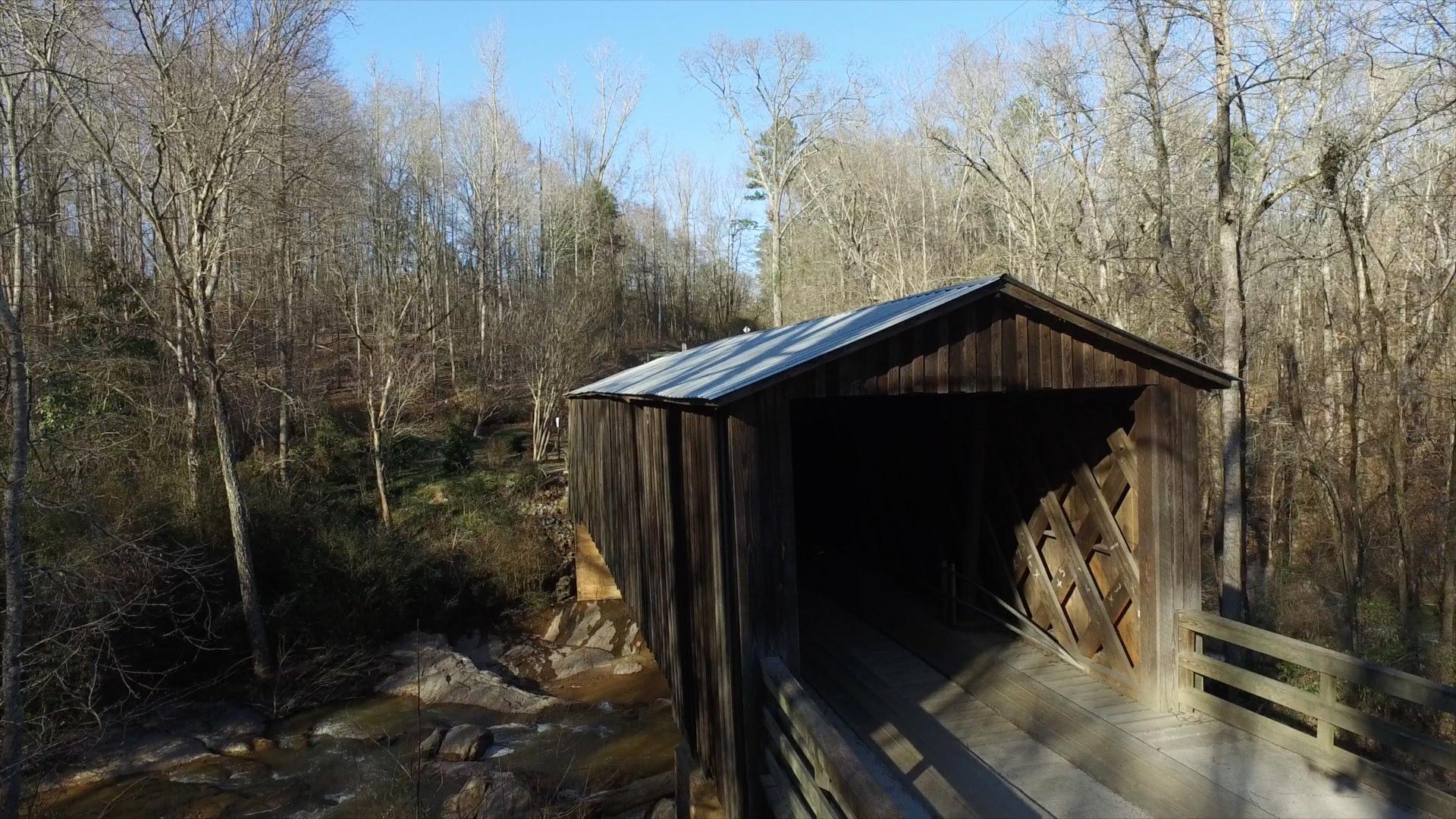 RCA Metal Supply Roof /Elder Covered Bridge /Watkinsville, Georgia