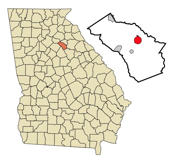 Watkinsville Georgia is located at 33°51′46″N 83°24′29″W By Arkyan