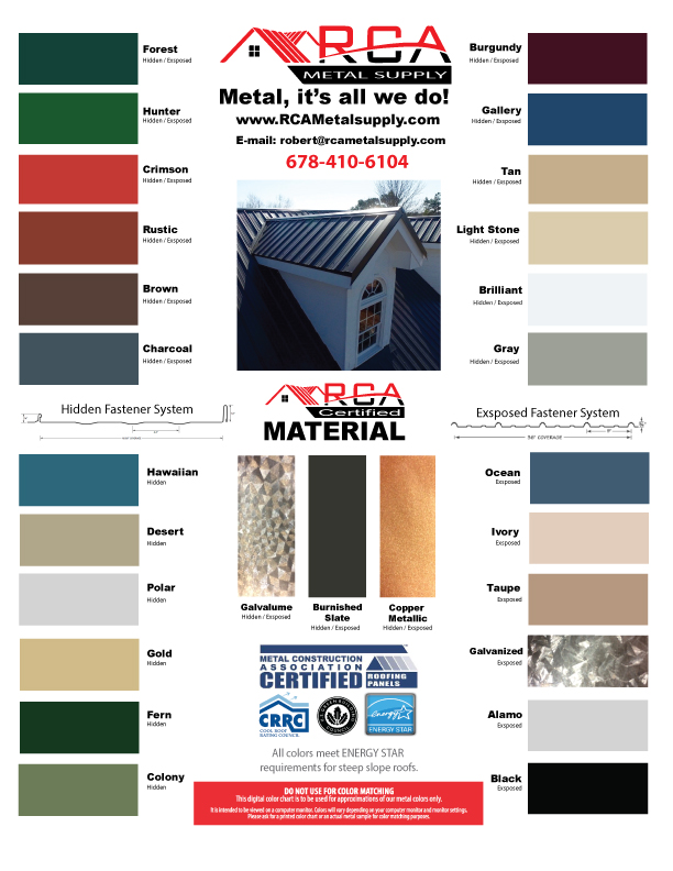 rca-metal-supply-color-chart-atlanta-roofs-georgia