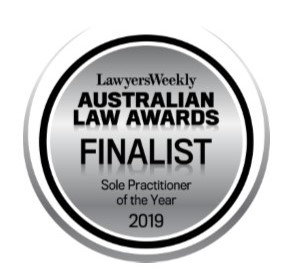 Cove Legal's Roger Blow has been announced as a finalist in the 2019 Australian Law Awards.