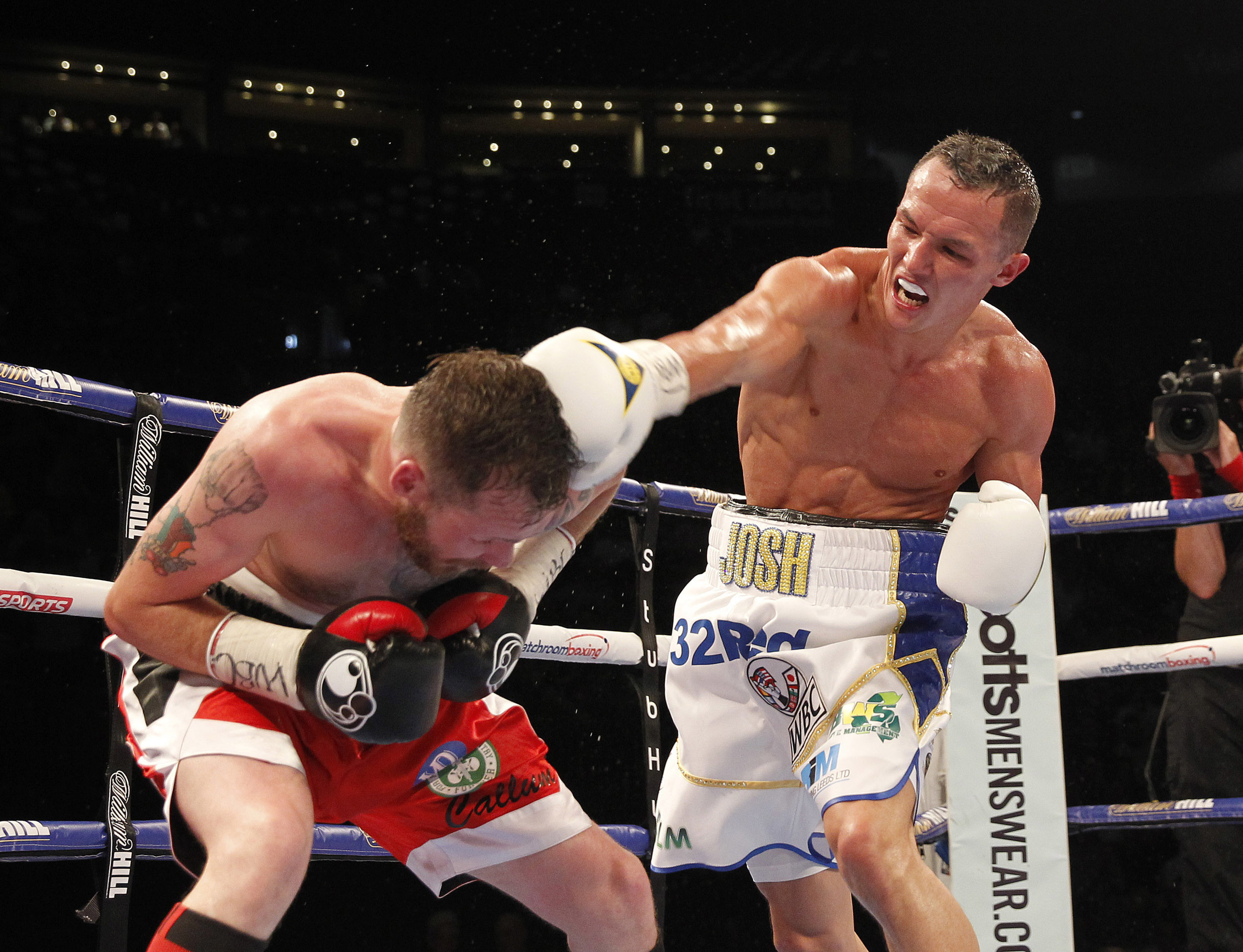 Josh Warrington vs Patrick Hyland 30th July 2016