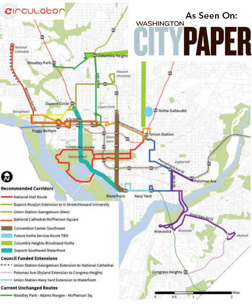 Circulator Bus Routes Expand... more here