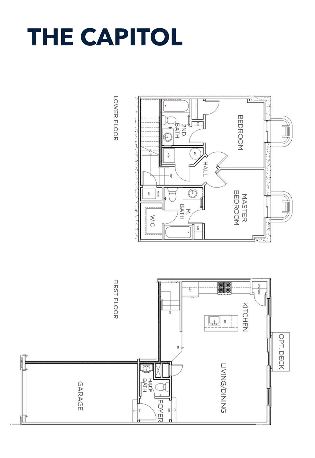 1 Available - 2bed 2.5bath w/Garage $336,900 base