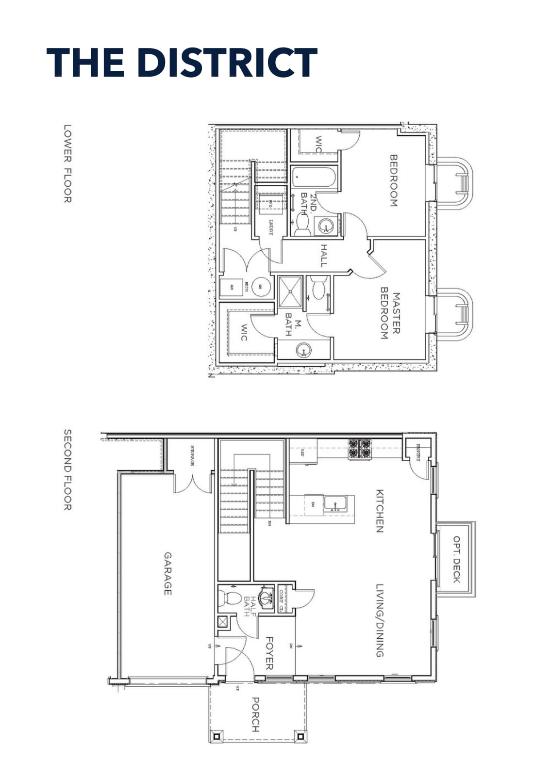 1 Available - 2 beds 2.5baths $359,900 base price