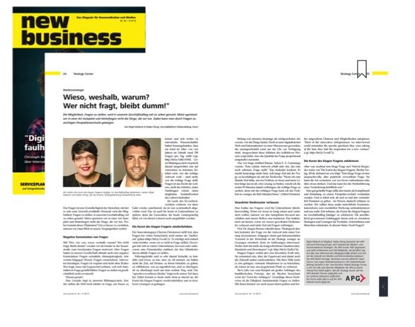 Erschienen: new business Ausgabe, 36/2015