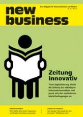 Erschienen: new business 38/2017, 18.09.2017