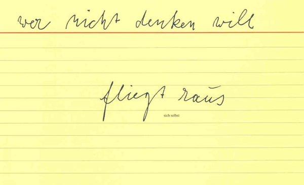 Joseph Beuys, 1977