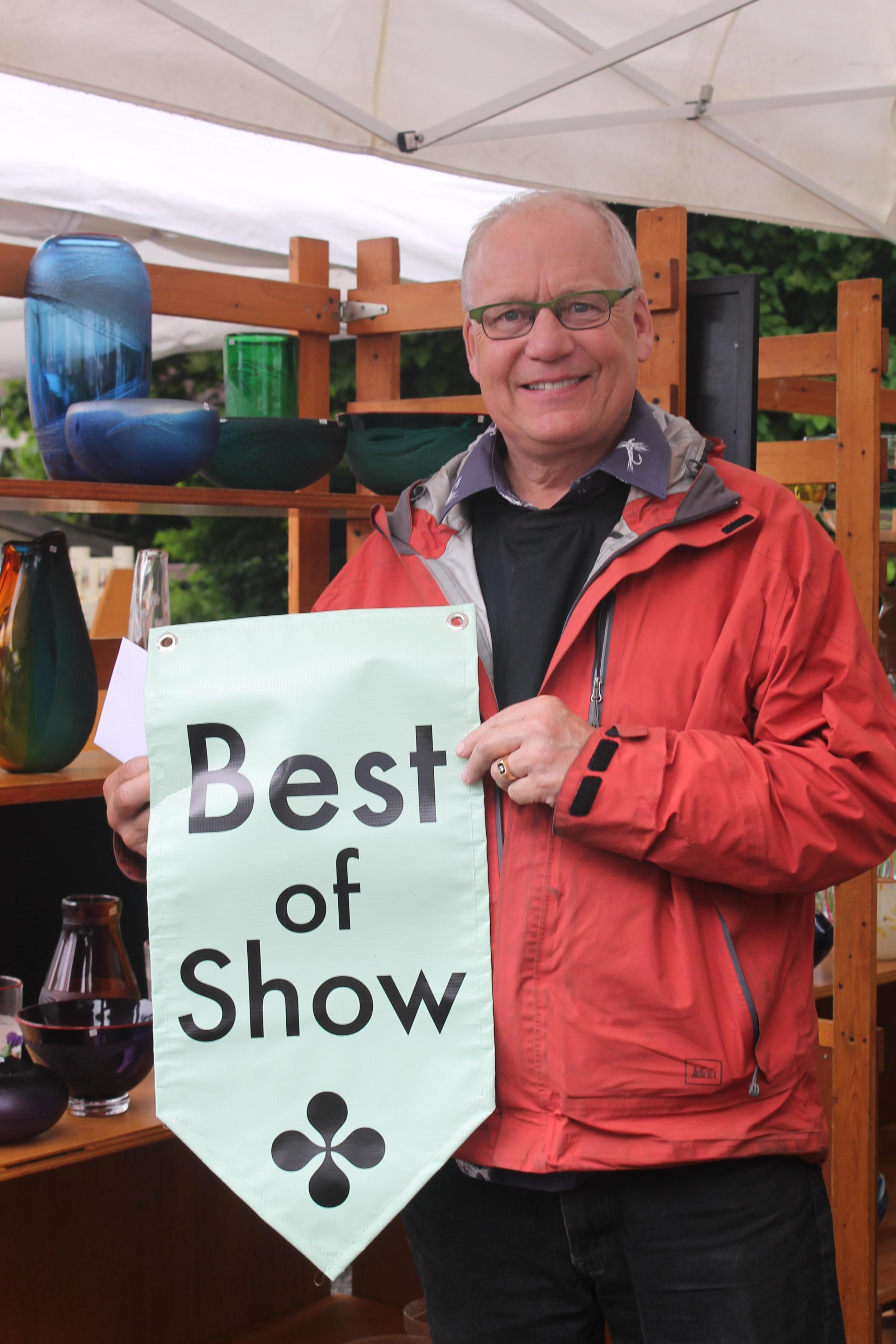 Best of Show: Steve Claypatch - Glass