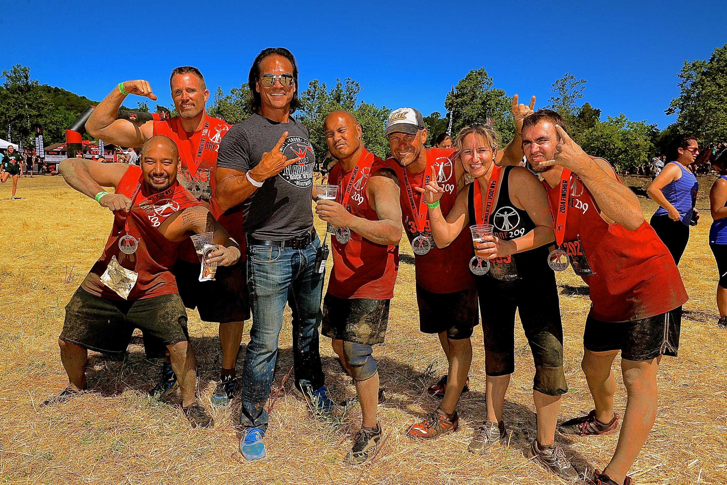 Be A Gladiator.   Gladiator     Rock 'N Run