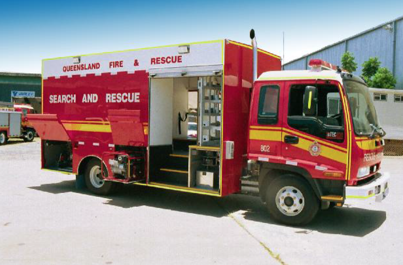 Search and rescue truck