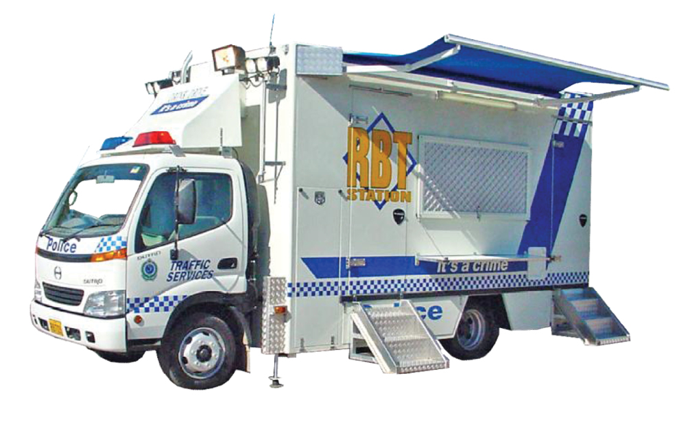 Mobile Breath Test Unit
