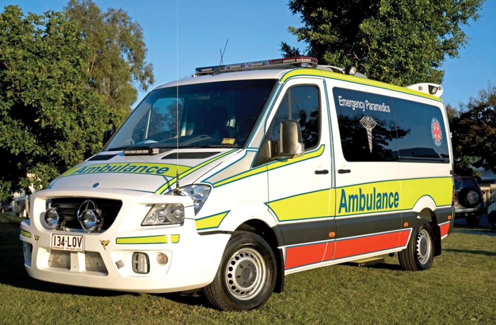 Ambulance Class 1 Emergency Fast Response