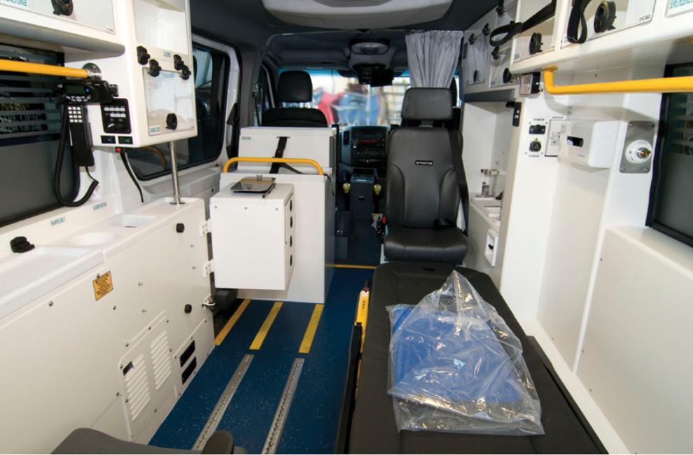 Ambulance Class 1 Emergency Fast Response (Interior)