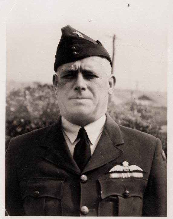 Clem York Varley during his WWII service with the RAAF.