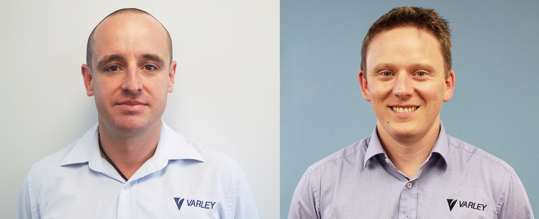 Varley Group's FLP participants Ian Craig (left) and Nick Percy (right).