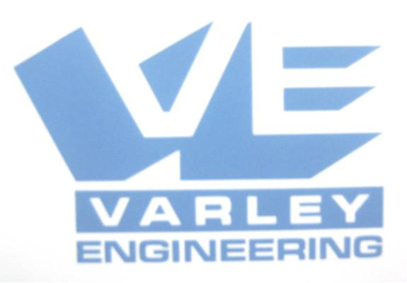 Pictured: G.H. Varley is rebranded as 'Varley Engineering', identified by this new Company logo.